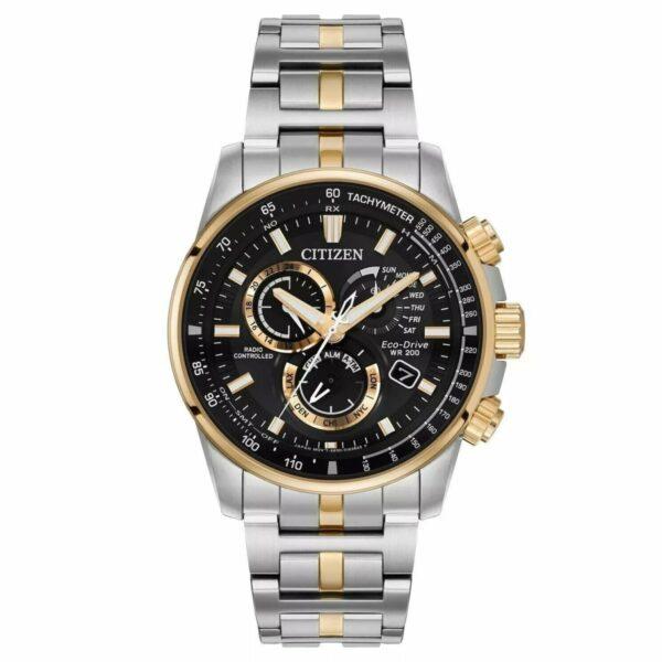 CITIZEN Men's Two-Tone Round Bracelet Watch - Stainless Steel - Gemorie
