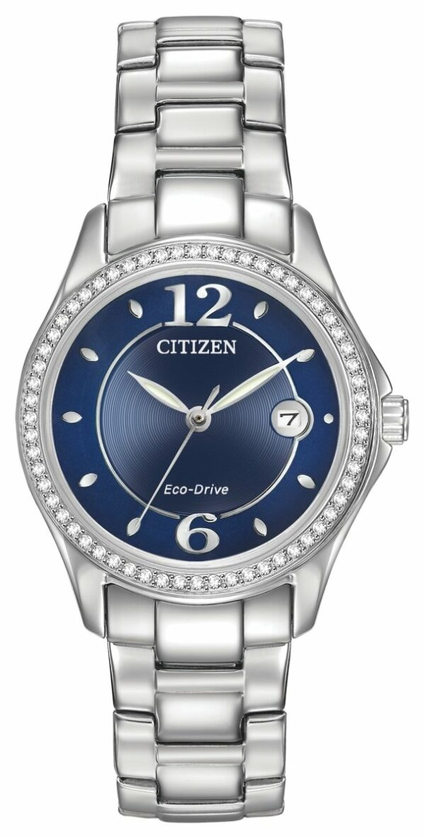 CITIZEN CITIZEN Silhouette Crystal Women's Water-Resistant Watch - Stainless Steel - Gemorie