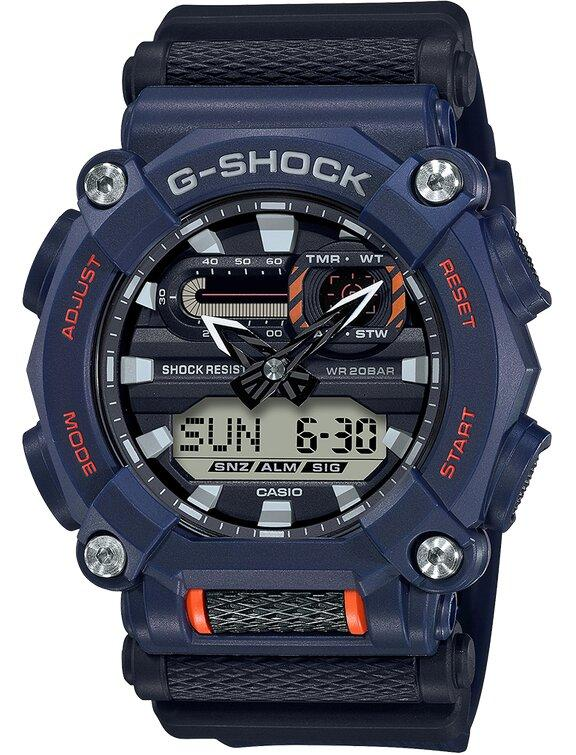 G-SHOCK G-SHOCK Auto Light Switch Men's Digital Analog Watch - Navy - Gemorie