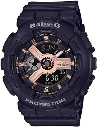 G-SHOCK G-SHOCK BABY-G Analog Digital Watch - Black - Gemorie