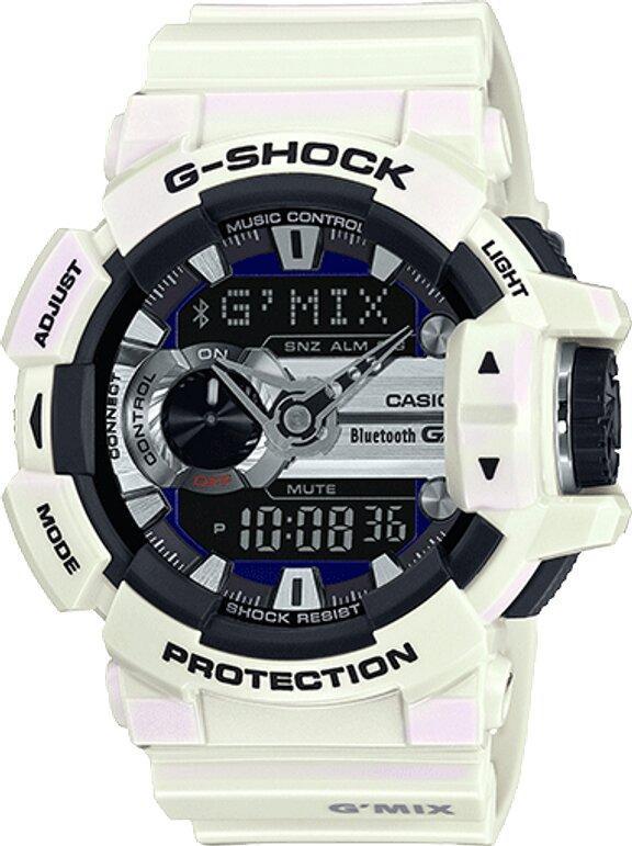 G-SHOCK G-SHOCK Bluetooth Low Battery Warning Men's Watch - White - Gemorie