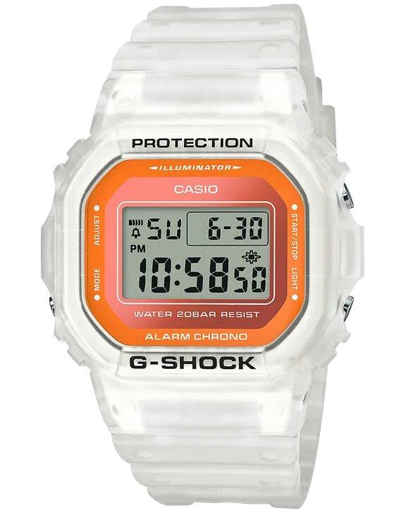 G-SHOCK G-SHOCK Fluorescent Mineral Glass Men's Watch - White - Gemorie