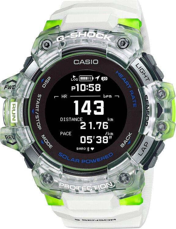 G-SHOCK G-SHOCK G-MOVE Series Workout High Definition MIP LCD Watch - Multicolor - Gemorie