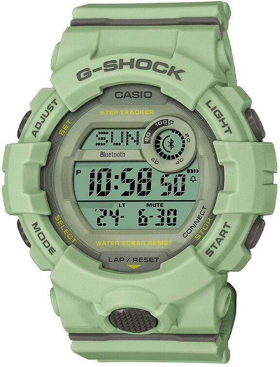 G-SHOCK G-SHOCK G-SQUAD Lineup Power Saving Step Count Graph Women's Watch - Green - Gemorie