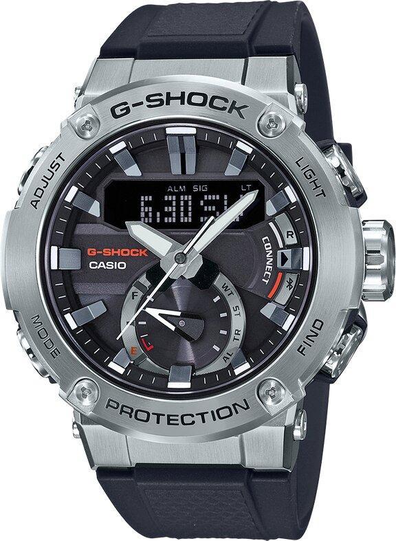 G-SHOCK G-SHOCK G-STEEL Carbon Core Guard Structure Neobrite Men's Watch - Multicolor - Gemorie