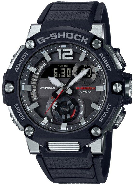 G-SHOCK G-SHOCK G-STEEL Power Saving Solar Powered Men's Watch - Black - Gemorie