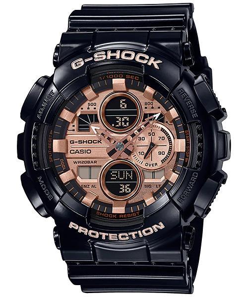 G-SHOCK G-SHOCK GA-140GB-1A2 Casio- BLACK AND ROSE GOLD - Gemorie