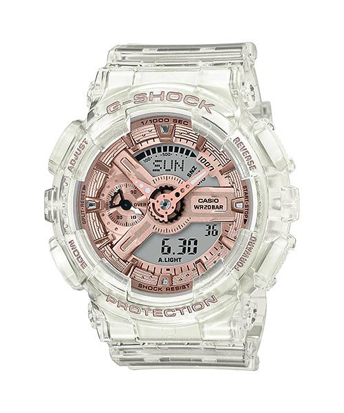 G-SHOCK G-SHOCK GMA-S110SR-7A Casio- CLEAR AND ROSE GOLD - Gemorie