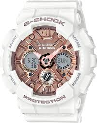 G-SHOCK G-SHOCK GMA-S120MF-7A2- WHITE & ROSE GOLD - Gemorie