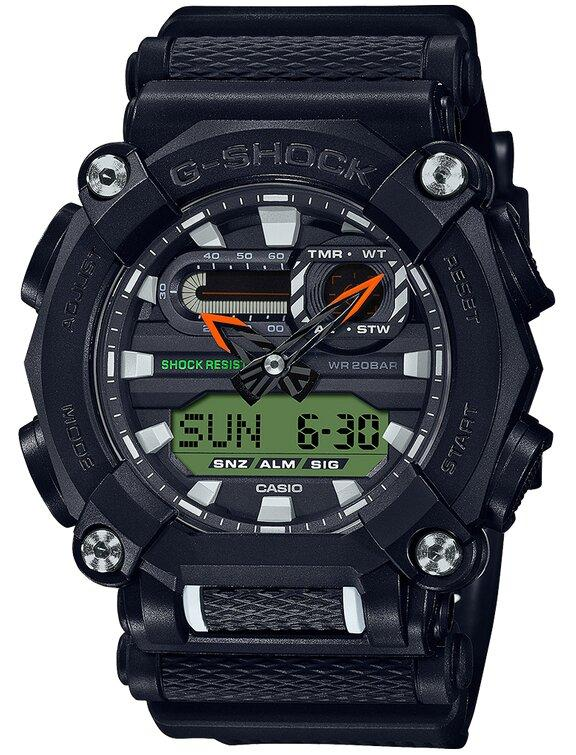 G-SHOCK G-SHOCK Interchangable Band Structure Men's Watch - Black - Gemorie