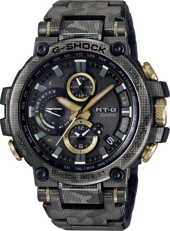 G-SHOCK G-SHOCK Limited Edition Two-Way Time Sync Technology Watch - Black - Gemorie