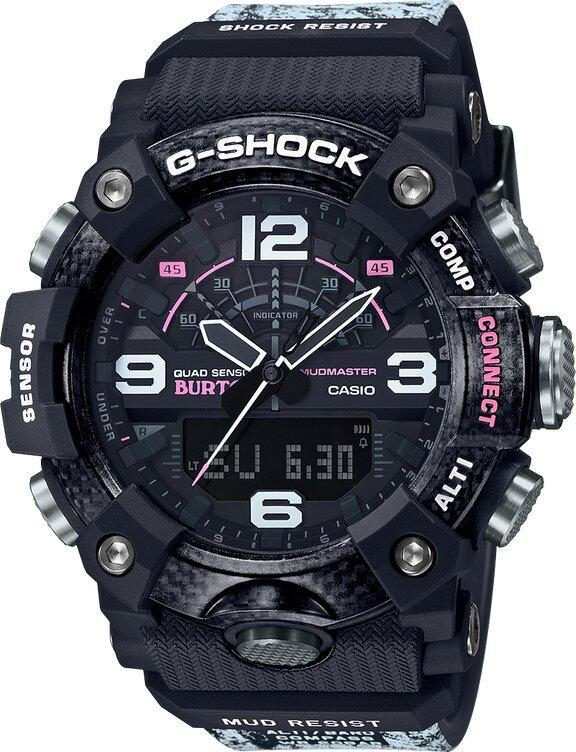 G-SHOCK G-SHOCK MudMaster Barometric Pressure Tendancy Alarm Men's Watch - Multicolor - Gemorie