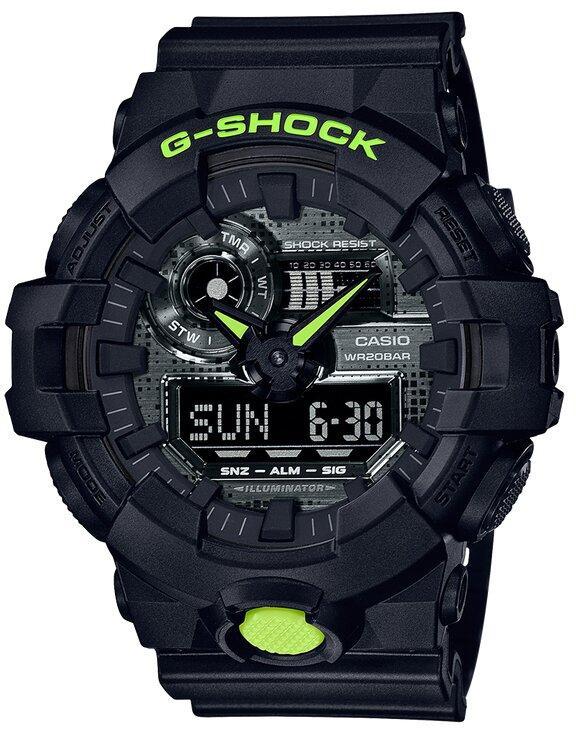 G-SHOCK G-SHOCK Multiple Countdown Function Men's Analog Digital Watch - Black - Gemorie