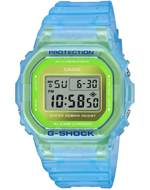 G-SHOCK G-SHOCK Semi-Transparent Multifunctional Alarm Men's Digital Watch - Multicolor - Gemorie