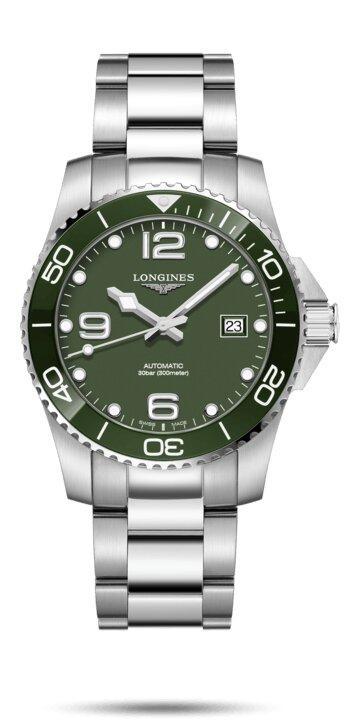 LONGINES LONGINES HydroConquest 41mm Ceramic Men's Watch - Stainless Steel - Gemorie