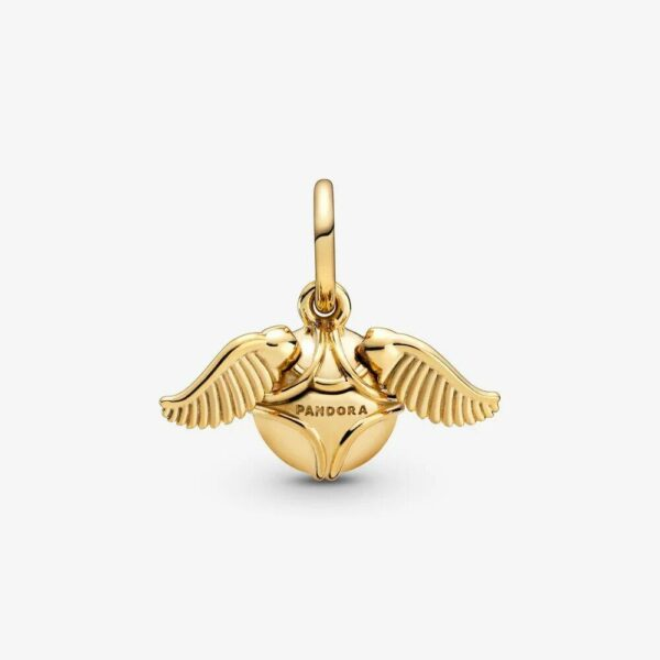 Pandora Harry Potter, Golden Snitch Pendant - Gemorie