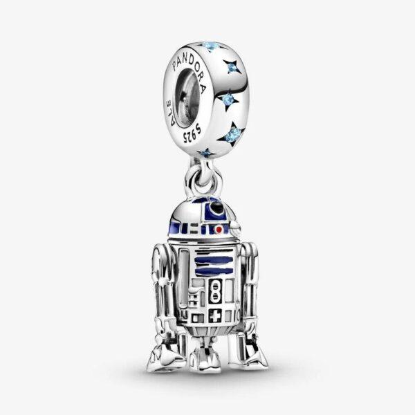 Pandora PANDORA Star Wars R2-D2 Dangle Charm - Gemorie